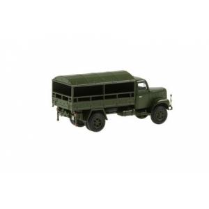 Saurer 2 DM Militärlastwagen Plache Gerollt