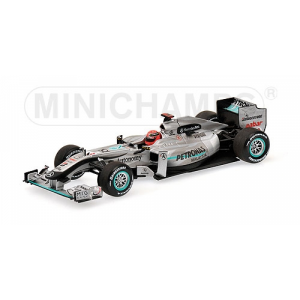 Mercedes GP MGP W01 M.Schumacher 2010