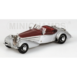 Horch 855 Spezial Roadster silber /rot