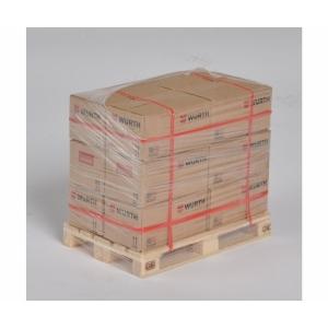 Euro-Palette mit WÜRTH-Verpackungen