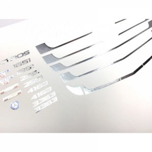 Mercedes Chromteile Kühlergitter