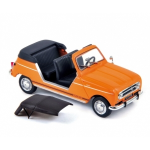 Renault 4 plein air orange 1968