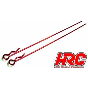 Karrosserieklammern rot lang