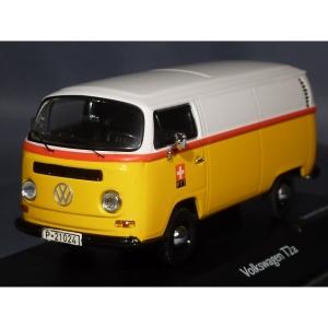 VW Bus T2a Kastenwagen gelb PTT