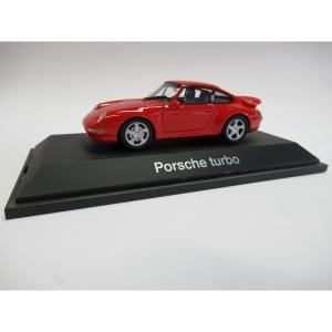 Porsche Turbo indischrot