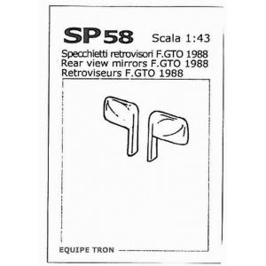 Rückspiegel für Ferrari GTO 1984