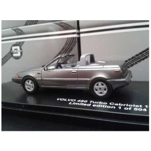 Volvo 480 Turbo Cabriolet silber met 199