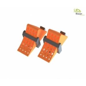 Unterlegkeil orange mit Halter