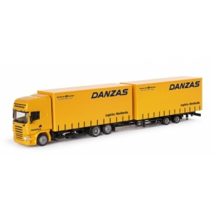 Scania R TL Volumenplanen-Hängerzug