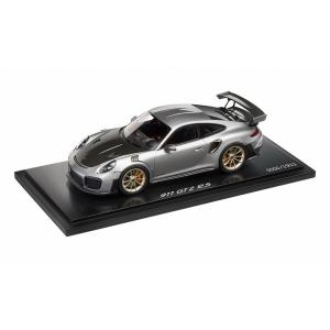 Porsche 911 GT2 RS silber met/schwarz 2017