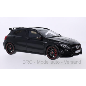 Mercedes GLA 45 AMG schwarz met 2016