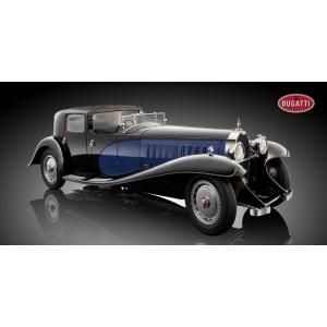 Bugatti Royal Coupé de Ville blau/schwarz 1930