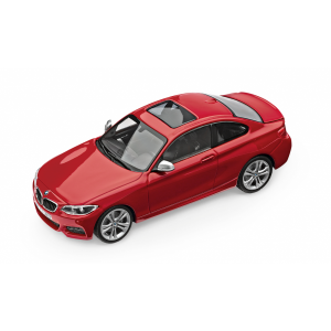 BMW 2er Coupé melbourne rot met.