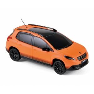 Peugeot 2008 orange matt 2013