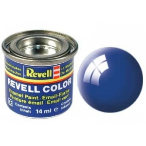 Farbe Blau glänzend