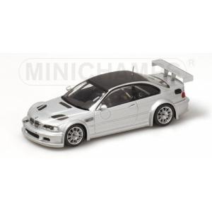 BMW M3 GTR silber met mit Carbon Dach 2001
