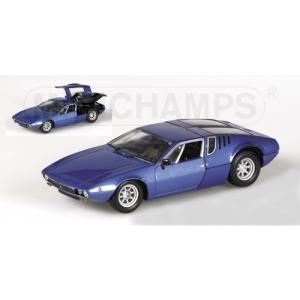 De Tomaso Mangusta blau met 1969