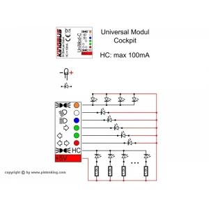 Universalmodul Kingbus für Cockpit Beleuchtung