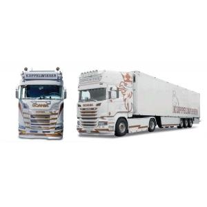 Scania CS 20 HD Kühlkoffer-Sattelzug