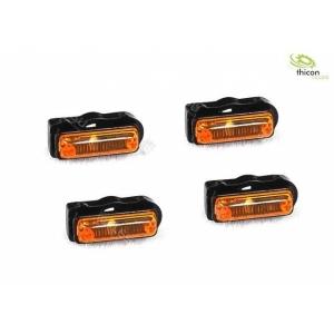 Seitenbegrenzungsleuchten mit LED orange
