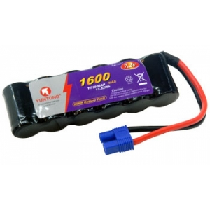 Accu 7.2V 1600 mAh mit EC3 Stecker 2/3 Zelle