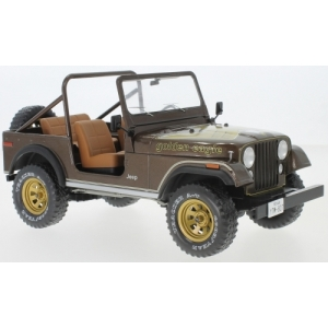 Jeep CJ-7 Golden Eagle dunkelbraun met 1980