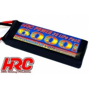Lipo 3S 11.1V 6000 mAh 50C/100C TRX