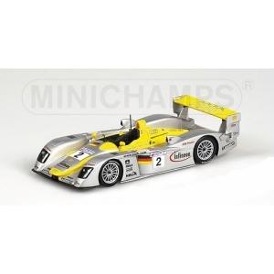 Audi R8 Nr.2 Le Mans 2. Platz 2002
