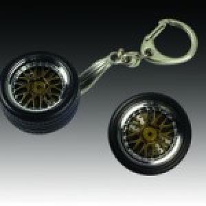 Schlüsselanhänger BBS Rad mit Aufhängung