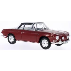 VW Karmann Ghia sunkelrot /schwarz 1961