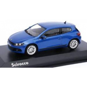 VW Scirocco blau met 2008
