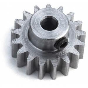 Zahnrad 15 Zähne M0.8 Stahl