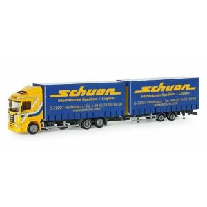 Scania R HL Volumen-Hängerzug