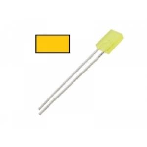 LED gelb Kabelende
