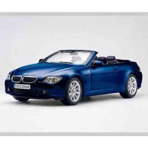 BMW 645 Ci Cabriolet blau met 2004