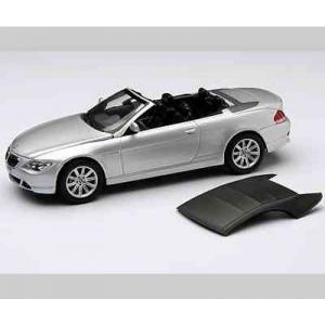 BMW 645 Ci Cabriolet silber met 2004