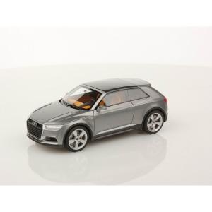 Audi Crosslane Coupé grau met 2012