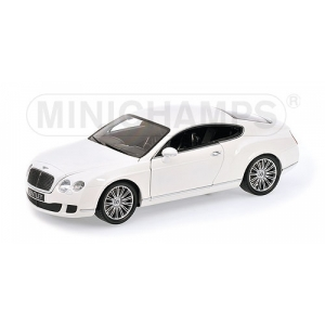 Bentley Continental GT weiss 2008
