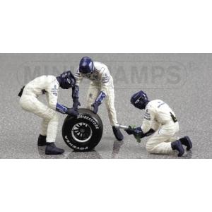 Williams Mechaniker 3 Stk.+1 Rad hinten