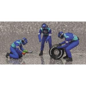 Sauber Mechaniker 3 Stk.+1 Rad hinten
