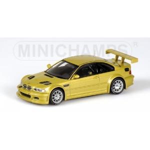 BMW M3 GTR gelb met 2001