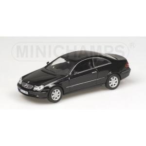 Mercedes CLK Klasse schwarz 2002