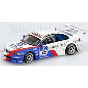 BMW M3 GTR Nr.43 24h Nürburgring 2004