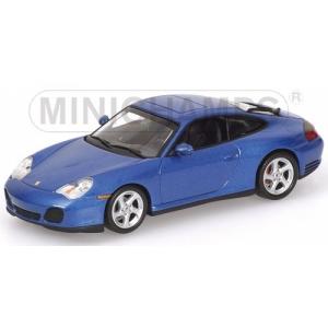 Porsche 911 4S blau met 2001