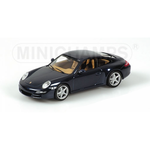 Porsche 911 Carrera blau 2004