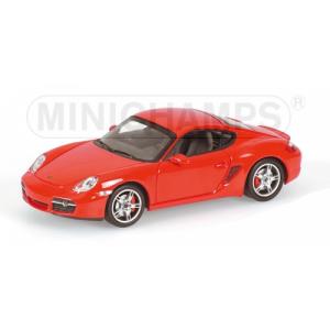 Porsche Cayman S rot 2005
