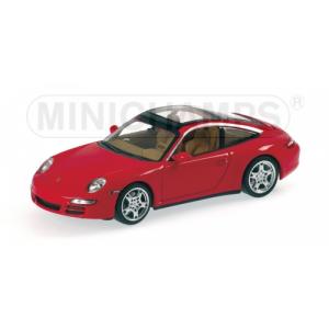 Porsche 911 Targa rot 2006