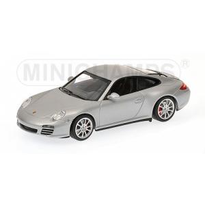 Porsche Carrera 4S silber met 2008