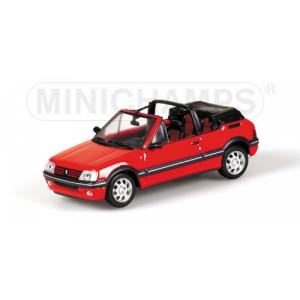 Peugeot 205 CTI Cabriolet rot 1990