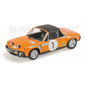 Porsche 914/6 Nr.1 Rallye Monte Carlo